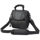 Protective Nylon Fabric Telephoto Camera Bag with Strap for Canon / Sony / Nikon - Black