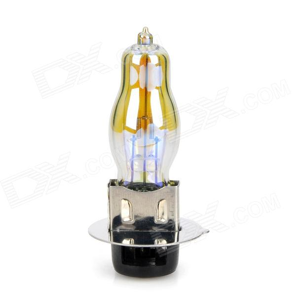 CYT P15-25-1 HOD 18W 800lm Yellow Light Motorcycle Halogen Headlamp - Silver + Black (12V)