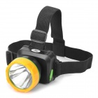 JINGKE TD-838 Rechargeable Cree XP-E Q3 125lm 3-Mode White Light LED Headlamp - Black + Orange
