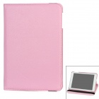 Rotary Protective PU Leather Case for Ipad MINI - Light Pink