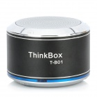 THINKBOX T-B01 Bluetooth v2.1 + EDR Speaker w/ Microphone - Black + Silver