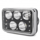 Waterproof 15W 1300lm 5-LED Cool White Light Motorcycle Headlamp for Suzuki GS125 / ZJ125 (12V)