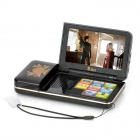 Stylish 4.3&quot; TFT 260KP Touch Screen MP4 Player w/ Speaker / FM / TF - Black (4GB)