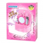 9-in-1 Makeup Nail Clipper / Eyebrow Tools Set - Pink + Silver