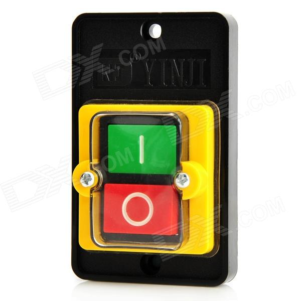 AC 220~380V Waterproof ON / OFF Push Button Switch