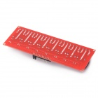 8 Channel 24V Relay Module - Red + Blue