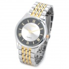 FeiWo 8066G Men's Stainless Steel Band Analog Quartz Wrist Watch (1 x 377)