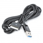 USB 3.0 Charging & Data Transmission Cable for ASUS TF700T / TF300 - Black (200cm)