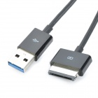 USB Charging & Data Transmission Cable for ASUS TF700T - Black (2m)