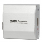 ASK-C006 1080P HDMI 1.4b to VGA + SPDF / Audio Converter - Silver