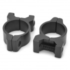H2006 AA Aluminum Alloy Laser Flashlight Mount Rings for CAR15 / M16A2 + More (24.5mm / 2 PCS)