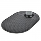 Romace R-810 Vehicle Car Compass Anti-Slip Mat Pad - Black