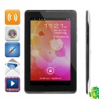 "Wase P5100 Android 4.0.3 WCDMA Tablet Phone w/ 7.0"" Capacitive Screen, GPS, TV and Wi-Fi - White"