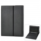 Bluetooth V3.0 76-Key Keyboard w/ PU Leather Case for Samsung Galaxy Note 10.1 N8000 / N8010- Black