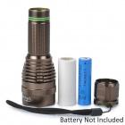 UltraFire 916 600lm 5-Mode White Light Flashlight - Brown (1 x 18650)
