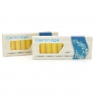 Electronic Cigarette Cartridge Refills - Camel Flavor (Yellow / 20 PCS)
