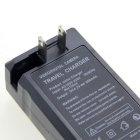 "US Plugs UltraFire 16340 Battery Charger w/ 4 x 3.6V ""1000mAh"" 16340 Batteries - Black"