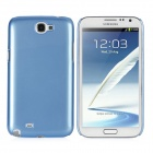 Protective Plastic Back Case for Samsung Galaxy Note 2 / N7100 - Cornflower Blue