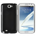 Protective Plastic Back Case for Samsung Galaxy Note 2 / N7100 - Black