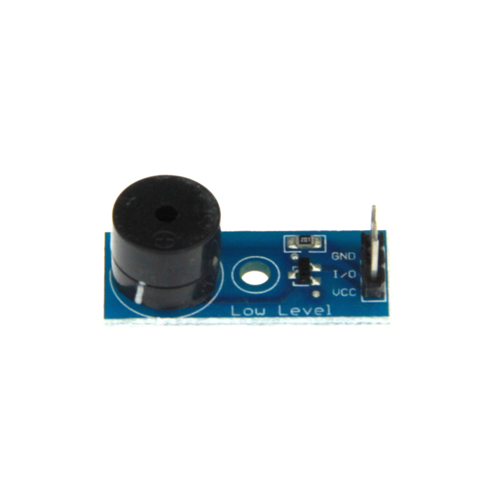DIY Active Low Level Trigger Buzzer Alarm Module - Blue 1 channel relay module interface board shield for arduino 5v low level trigger one pic avr dsp arm mcu dc ac 220v