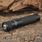 AURORA SHLD15 Cree XP-G R5 120lm 3-Mode White Light Mini Flashlight - Black (1 x AA)