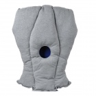 Portable Flexible Fabric Neck Support Ostrich Pillow - Grey