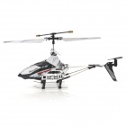 Rechargeable 2.5-CH IR Remote Controlled R/C Helicopter - Black + Silver + White