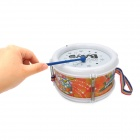 Musical Instrument Educational Toy Rhythm Band Hand Drum with Flashlight (3 x LR44)