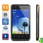 "DaXian I5 Android 4.0 GSM Bar Phone w/ 4.0"" Capacitive Screen, Dual-Band, Wi-Fi and Dual-SIM - Black"