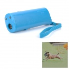 Ultrasonic Dog Repeller Training Device w/ 2-LED Flashlight - Blue (1 x 9V/6F22) 