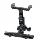 360 Degrees Rotation Car Backseat Swivel Mount Holder for iPad Mini - Black