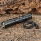 UltraFire S5 Cree XR-E Q5 200lm 5-Mode Memory White Light Zoom Flashlight - Black (1 x 18650)