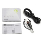 WOOWI BTEC010 Single-Channel Bluetooth v2.1 + EDR Headset w/ Microphone - Silver + Black