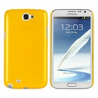 Protective Plastic Back Case for Samsung Galaxy Note 2 / N7100 - Goldenrod
