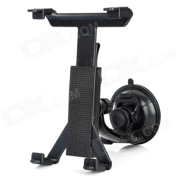 360 Degrees Rotation Car Backseat Swivel Suction Cup Mount Holder for Ipad MINI - Black h08 360 rotation 4 port suction cup holder w silicone back clip for iphone 4 4s 5 ipad mini ipod