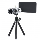 12X Mobile Telephoto Lens for iPhone 4 / 4S / Samsung i9300 w/ Mini Tripod / Case