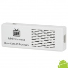 MK808 Dual-Core Android 4.1.1 Google TV Player w / Wi-Fi / 1GB RAM / 8GB ROM / OTG - White