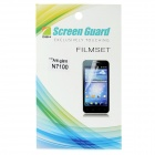 Protective Matte PE LCD Screen Protector for Samsung Galaxy Note II N7100 - Transparent