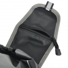 ROSWHEEL bicyclette étanche Saddle Bag - Noir + Gris