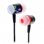 GENIPU GNP-60 In-Ear Stereo Earphone - Black (3.5mm Plug / 120cm-Cable)