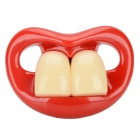Practical Joke Buck Teeth Pacifier Nipple - Random Style