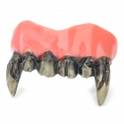 Artificial Vampire Teeth for Halloween Party - Black