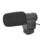 MIC-109 Uni-Directional Microphone for DSLRs / Camcorders - Black (1 x CR1623)