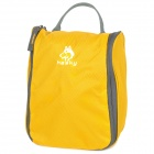 Hasky CY-0518 Outdoor-portable Nylon Wash Bag - Yellow (5 L)