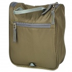 HASKY CY-0518 Outdoor Portable Nylon Wash Bag - Army Green (5 L)