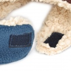Algodón Estilo lindo + Polar Fleece Hat Ear Warmer para Boy - Café