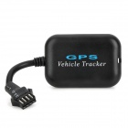 Portable Multi-Function GPS / GSM / GPRS Vehicle Tracker - Black