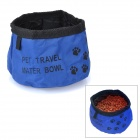 Tragbare Reisen Food Feeder / Water Bowl für Pet - Blue (1000ml)