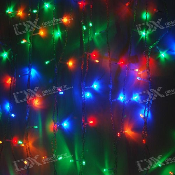 YouOkLight YK0653 Multi-color RGB 180-LED Christmas/Decoration String Lights (18-Meter/220V AC)