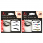 7-in-1 Cosmetic Makeup Eyeliner Sticker Strips - Multi-Color